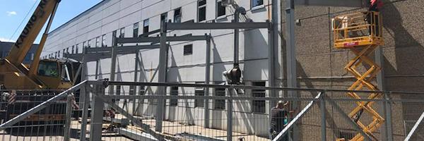 Priestato-stoginės statybos darbai (500 m2), Kaunas, LVUAB Hi-steel, 2018 m